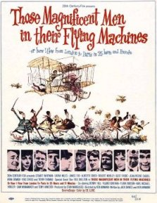 Poster for filmen Those Magnificient Men in Their Flying Maschines