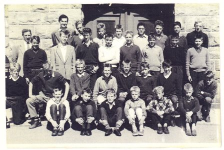 7. klasse gutter A, Allanengen skole 1960